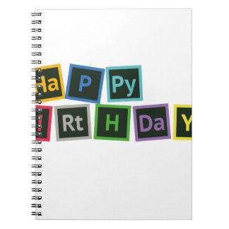 Happy Birthday Periodic Notebook