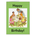 Happy Birthday Picnic, Happy, Birthday! Card
