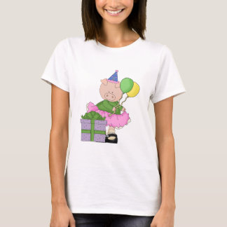 Happy Birthday Pig T-Shirt