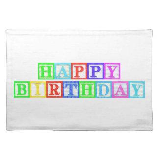 Happy Birthday! Place Mat