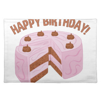Happy Birthday Placemats