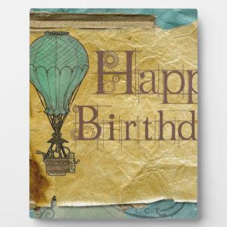 Happy-Birthday Plaque