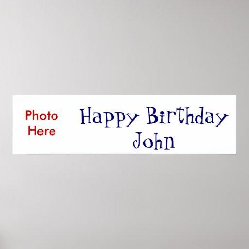 Happy Birthday Posters