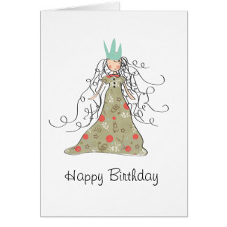 Happy Birthday Princess Card