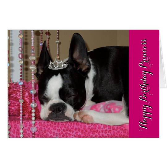 Happy Birthday Princess - Lola B. Boston Card