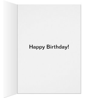 Happy Birthday Rabbits Card