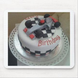 happy birthday racing car mouse pad