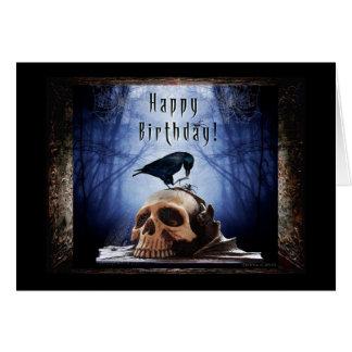 Happy Birthday - Ravens Den Card