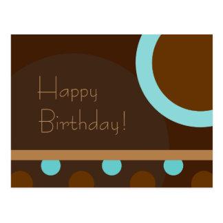 Happy Birthday! Retro 103 Postcard