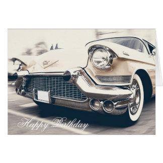 Vintage Cars Happy Birthday Greeting Cards Zazzle Com Au