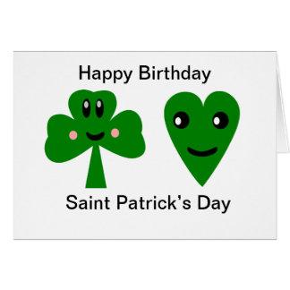 Happy Birthday: Saint Patrick's Day Card