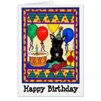 Happy Birthday Scot Card