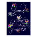 happy birthday secret pal greeting cards