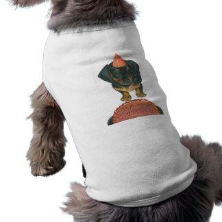 Happy Birthday Shirt for a Dog Doggie Tshirt