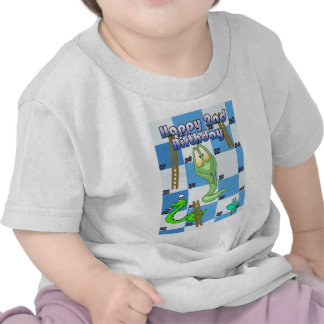 Happy Birthday snakes and ladders game T Shirts