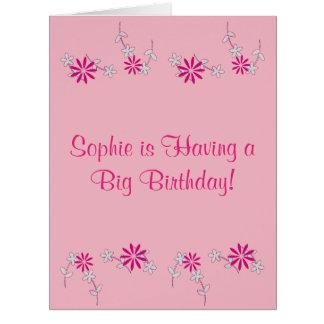Happy Birthday Sophie! (Name) Card