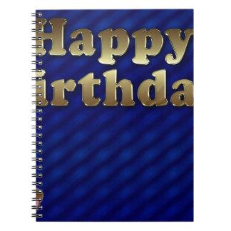 happy-birthday spiral notebook