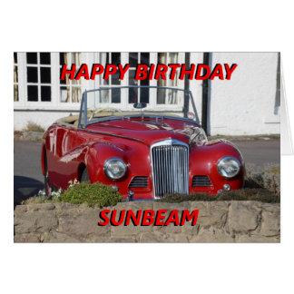 Happy Birthday Sunbeam Birthday Card