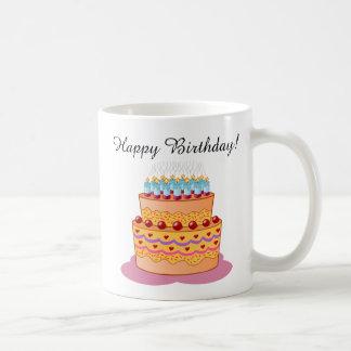 Happy Birthday! Sweet Birthday Cake. Coffee Mug