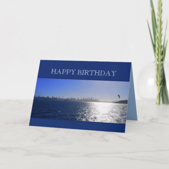 Happy Birthday, Sydney, Australia, Harbour Card