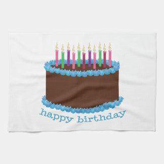 Happy Birthday Tea Towel