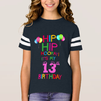 Happy Birthday Teen Team Party Shirt - Add Age!
