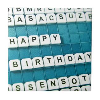 Happy Birthday! Ceramic Tiles