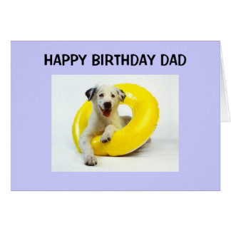 HAPPY BIRTHDAY TO A FUN DAD CARDS