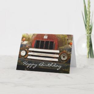 Happy Birthday To Elderly Man Card