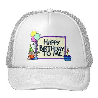 Happy Birthday To Me Boy Hats