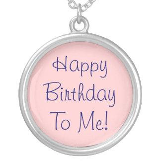 Happy Birthday to Me! Necklace