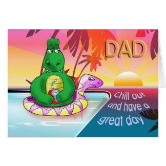happy birthday to my dad greeting card
