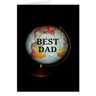 Happy Birthday To The Best Dad On Earth! Greeting Card