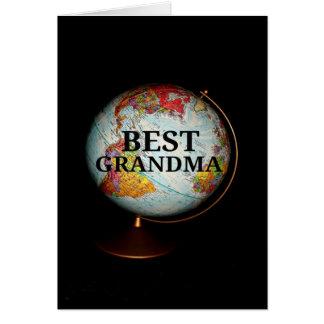 Happy Birthday To The Best Grandma On Earth! Card