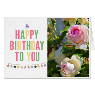 Happy Birthday To You Greeting Card