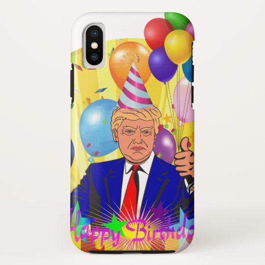 happy birthday trump HTC vivid / raider 4G cover