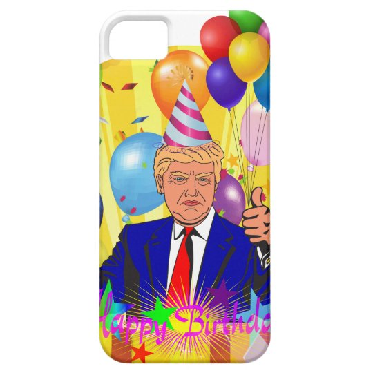 happy birthday trump iPhone 5 covers