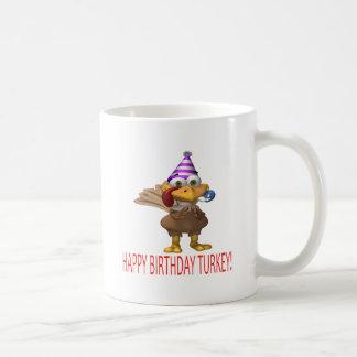 Happy Birthday Turkey Coffee Mug