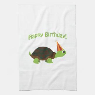 Happy Birthday! Turtle Tea Towel