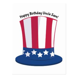 Happy Birthday Uncle Sam! Postcard
