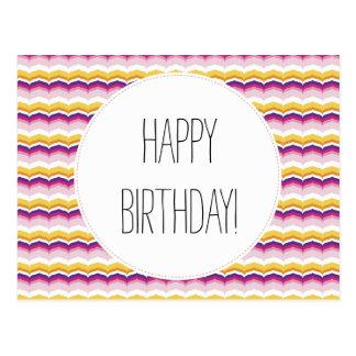 Happy Birthday Uplifting Greeting Card Postcard