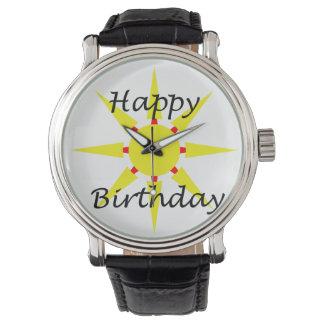 Happy birthday watch