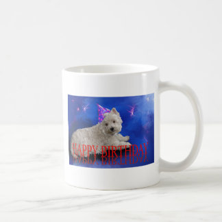Happy Birthday Westie Coffee Mug