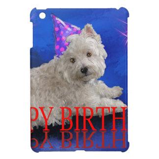 Happy Birthday Westie iPad Mini Cases