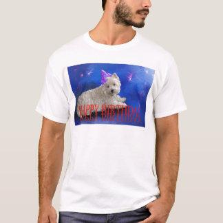 Happy Birthday Westie T-Shirt