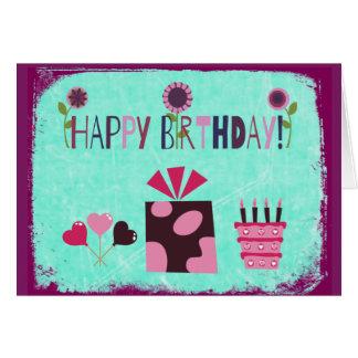 Happy Birthday Whimsical Birthday Card