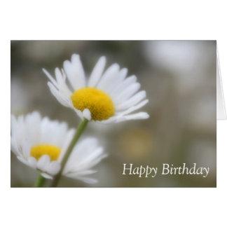 Happy Birthday Wild Daisies Card