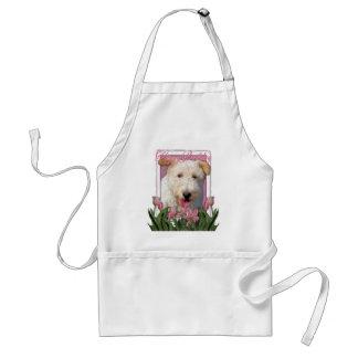 Happy Birthday -  Wire Fox Terrier - Hailey Adult Apron