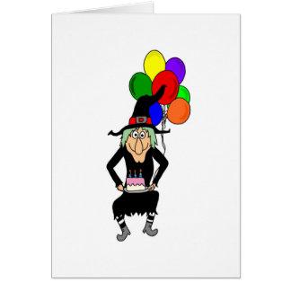 Happy Birthday Witch Greeting Card