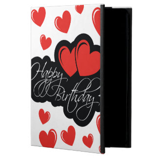 Happy Birthday with two red hearts Powis iPad Air 2 Case